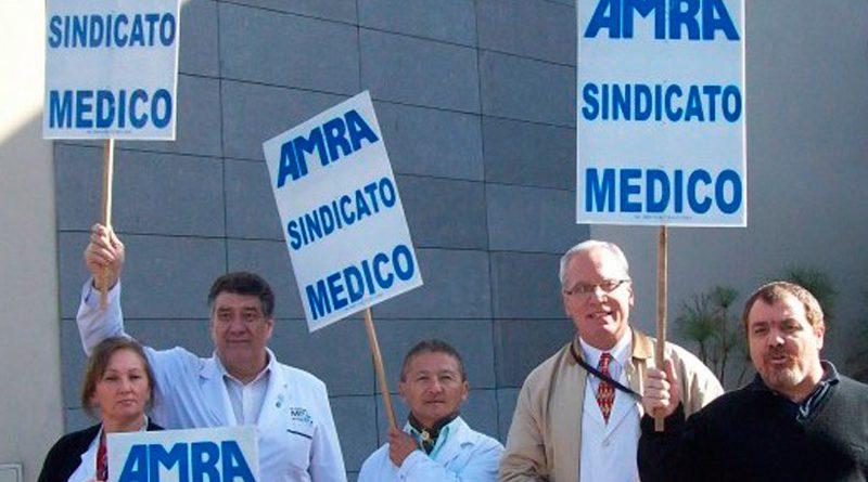 Médicos nucleados en AMRA no aceptaron la propuesta e irán al paro los días martes 26 y miércoles 27