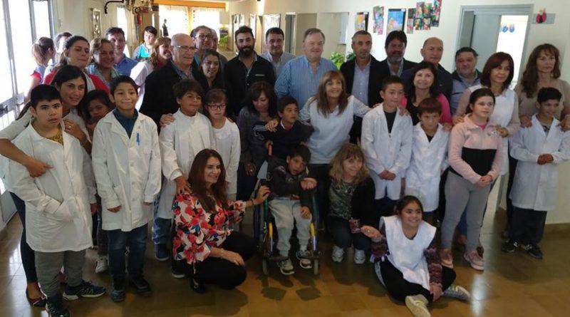 Entregaron un importante aporte del FANI para la Escuela Especial N° 2029 Héctor Corvi de San Cristóbal