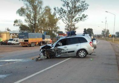 Selva: Accidente de tránsito en Ruta 34 con tres heridos