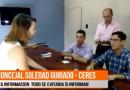 La Concejal Guirado irrumpió en una conferencia para interpelar a los secretarios