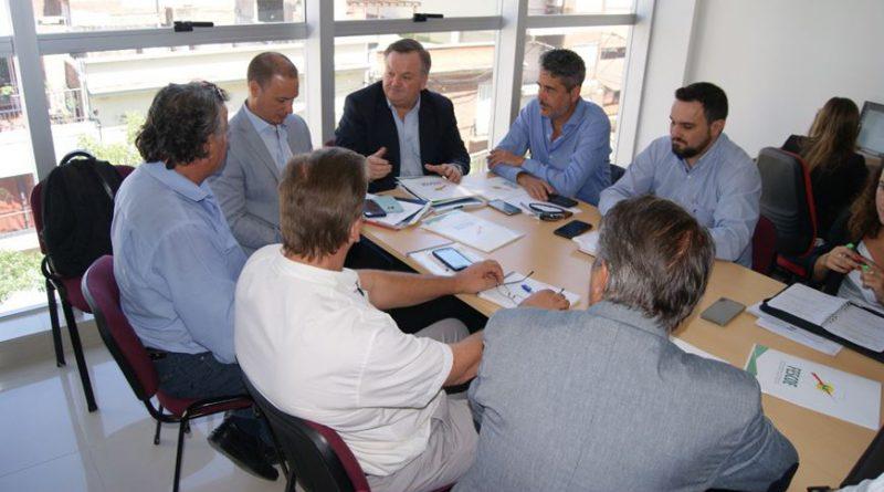 Legisladores de la UCR se reunieron con representantes de la Federación Santafesina de Cooperativas Eléctricas