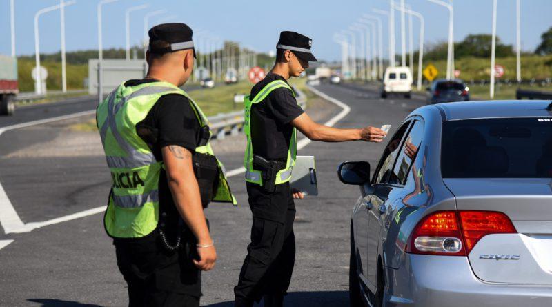 La Agencia Provincial de Seguridad Vial refuerza controles en rutas para asegurar el cumplimiento de la cuarentena en Semana Santa