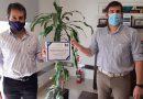 """""""Juntos somos más"""" La Mutual entregó los aportes de las donaciones al Hospital de Ceres"""