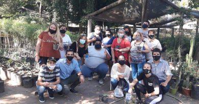 Visita al Vivero: El Gobierno de la ciudad promueve hábitos saludables