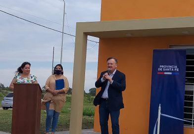 Inauguración de viviendas en San Guillermo y Constanza