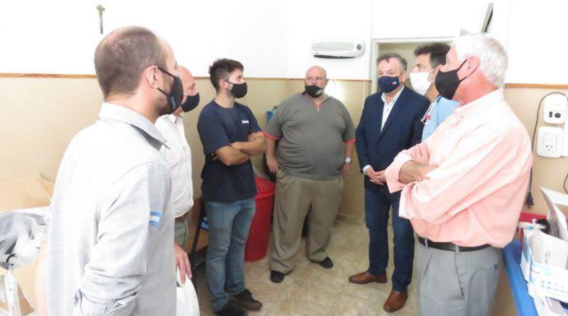 En localidades del Dpto. San Cristóbal mostraron el eficaz funcionamiento de los respiradores–ventiladores