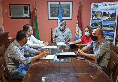 El Senador Michlig visitó las localidades de Capivara, Moisés Ville y Curupaity