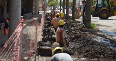 Michlig reclamó por obra de cloacas en San Cristóbal y el mantenimiento de un tramo de la RP N° 74-S