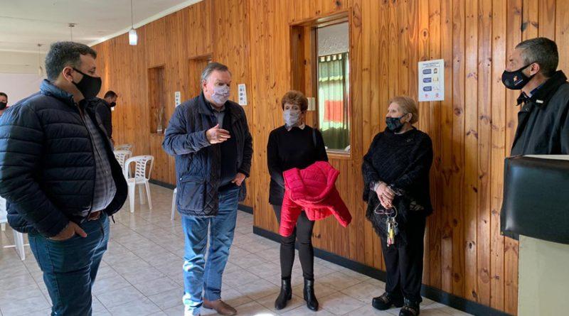 El Senador Michlig junto a Rigo, González y Martino se reunieron con diversas instituciones de San Cristóbal