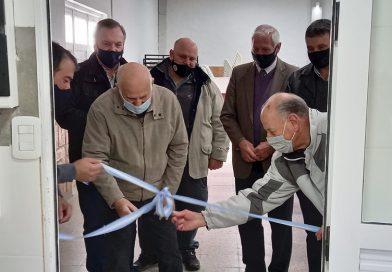 El Senador Michlig y el Intendente Boscarol entregaron  aportes y visitaron instituciones deportivas.