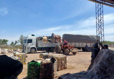 Se produjo la venta de 36.200 Kg. de materiales reciclables